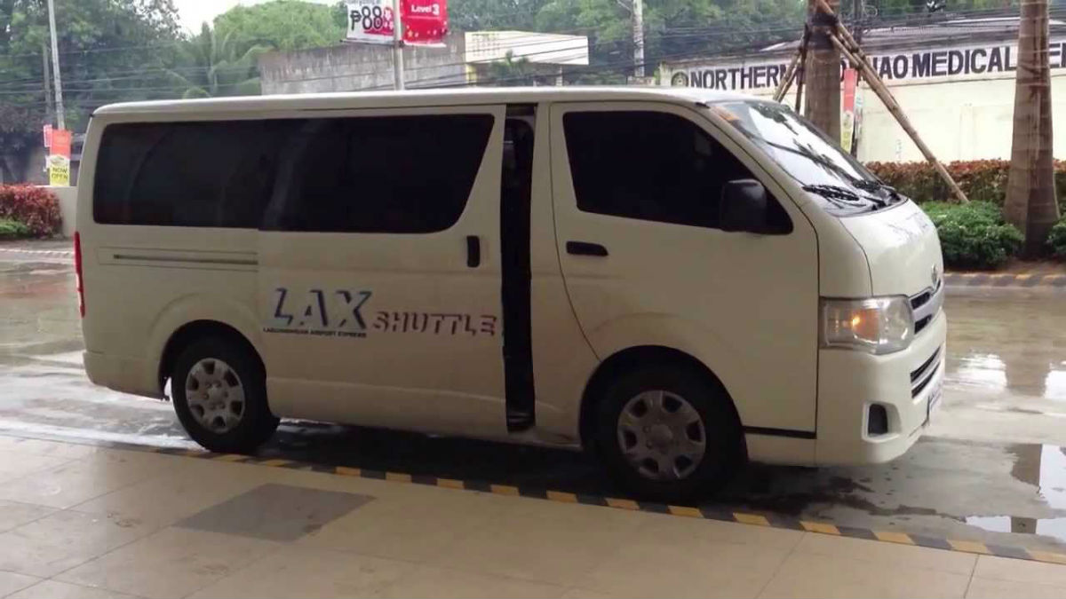 Shuttle to Laguindigan Airport from Centrio Mall in Cagayan De Oro, Philippines