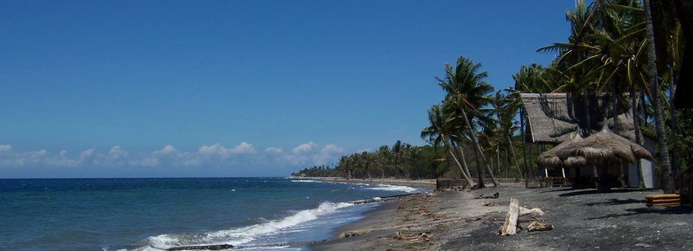 Dumaguete, Philippines - the beach in Malatapay across from Apo Island